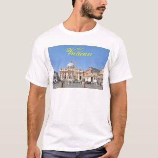 Camiseta Quadrado de San Pietro no vaticano, Roma, Italia