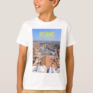 Camiseta Quadrado de St Peter no vaticano, Roma, Italia