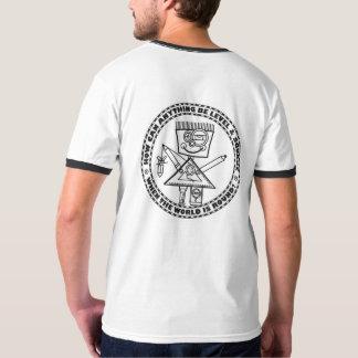 Camiseta Quadrado em um mundo redondo?