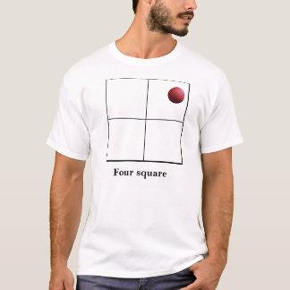 Camiseta Quadrado quatro vivo ele