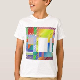 Camiseta Quadrados abstratos