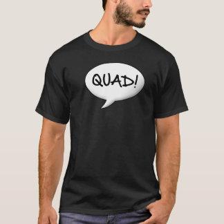 Camiseta Quadrilátero! Bolha do discurso