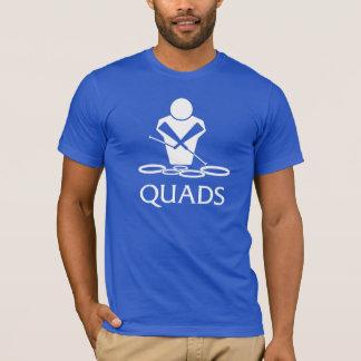 Camiseta QUADRILÁTEROS - cilindros de conteúdo