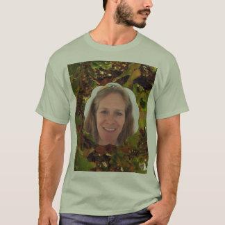 Camiseta Quadro da foto da nuvem da queda
