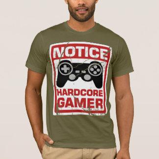 Camiseta Quadro indicador incondicional da observação do