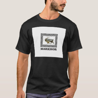 Camiseta Quadro ornamentado do Markhor