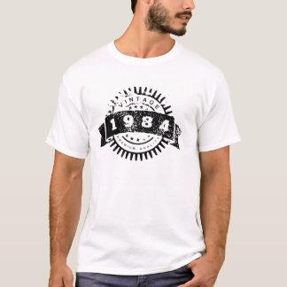 Camiseta Qualidade do prêmio do vintage 1984