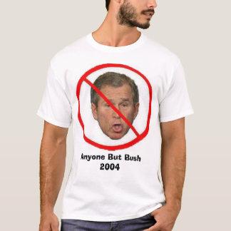 Camiseta Qualquer um mas Bush 2004