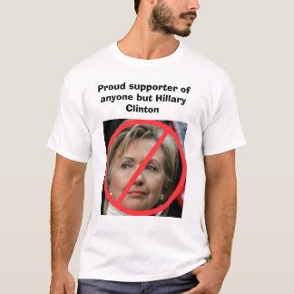 Camiseta Qualquer um mas Hillary Clinton
