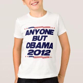 Camiseta Qualquer um mas Obama 2012