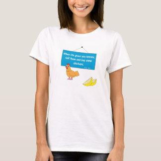 Camiseta Quando a vida lhe der limões…