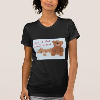 Camiseta quando ataque dos bichos de pelúcia