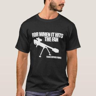 Camiseta Quando bater o t-shirt escuro