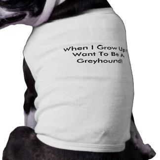 Camiseta Quando eu me cresço acima queira ser um TShirt do