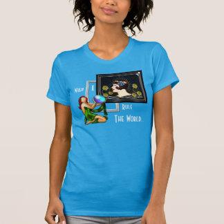 Camiseta Quando eu ordenar o mundo - estilo do art deco