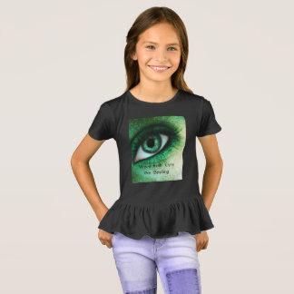 Camiseta quando irlandeses os olhos estão sorrindo