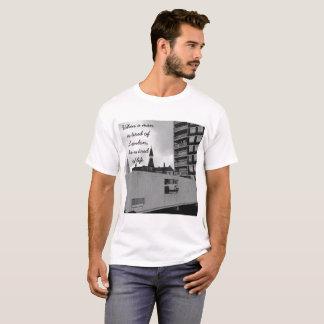 Camiseta Quando um homem é cansado de Londres, é cansado da