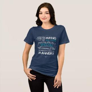 Camiseta Quando você estava olhando fixamente em minha