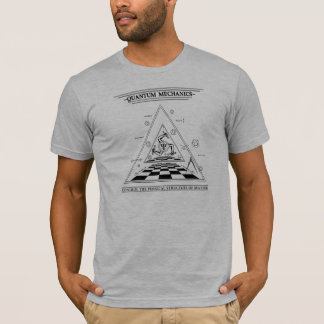 Camiseta Quantum Mecânico-Surreal