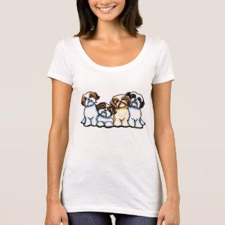Camiseta Quarteto de Shih Tzu