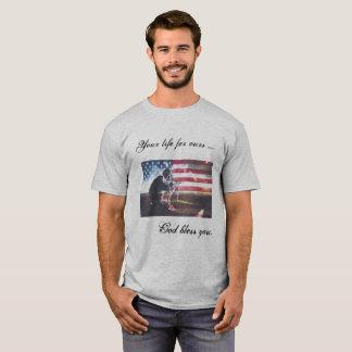 Camiseta Quarto do del 4 de Julio das camisas/Playera de