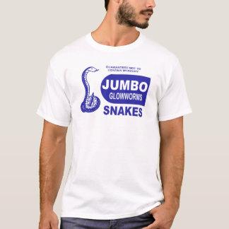 Camiseta Quarto enorme de Glowworm de fogos-de-artifício do