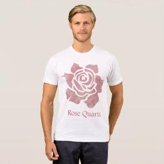 Camiseta Quartzo cor-de-rosa