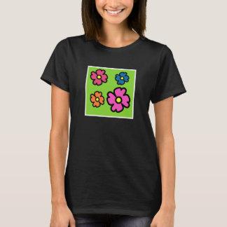 Camiseta Quatro flores