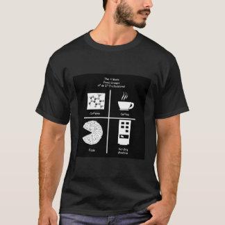 Camiseta Quatro grupos de comida básicos dELE
