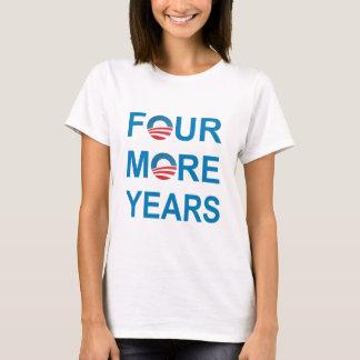 Camiseta QUATRO MAIS ANOS - Barack Obama 2012