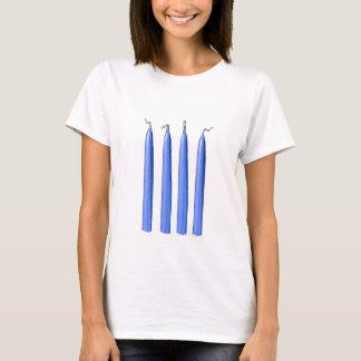 Camiseta Quatro punhos das velas/forquilha