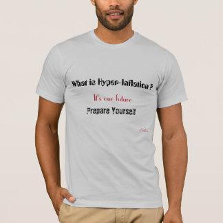 Camiseta Que é hiperinflação? , É nosso futuro, pre…