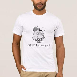 Camiseta Que é para a ceia?