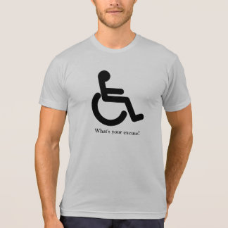 Camiseta Que é sua desculpa?
