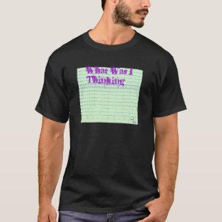 Camiseta que eu pensava?