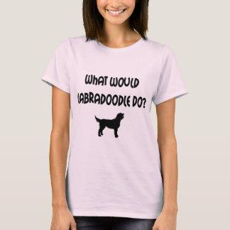 Camiseta Que Labradoodle faria? T-shirt & presentes