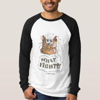 Camiseta Que luta?! Desenhos animados de Tomcat