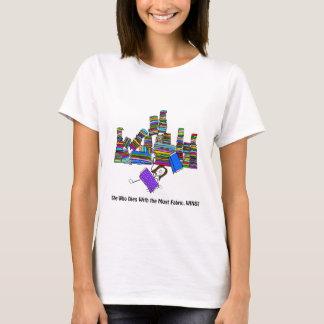 Camiseta Que morre com a maioria de tecido ganha!