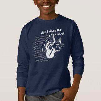 Camiseta Que o Fox disse?