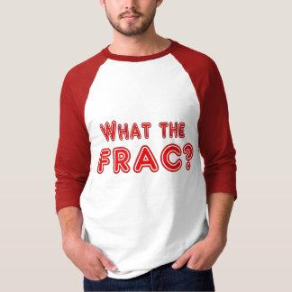 Camiseta que o frac