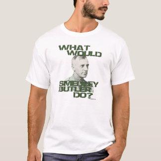 Camiseta Que o mordomo de Smedley faria?