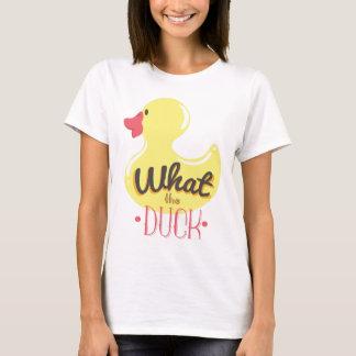 Camiseta Que o pato?