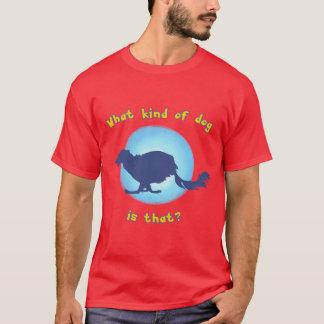 Camiseta Que tipo do cão é aquele? (Windhound macio)