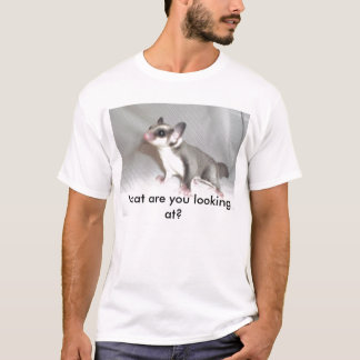 Camiseta Que você está olhando?