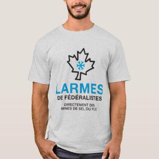 Camiseta Quebeque lágrimas de féréralistes humor