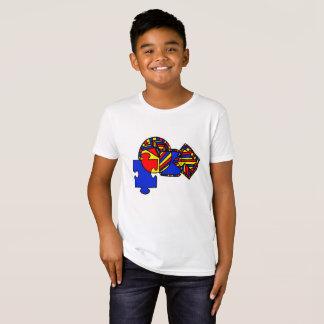 Camiseta quebra-cabeça