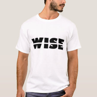 Camiseta Quebra-cabeça do Rebus: Rachadura sábia