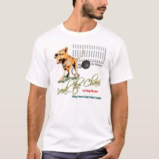 Camiseta Quebre as correntes do abuso do cão