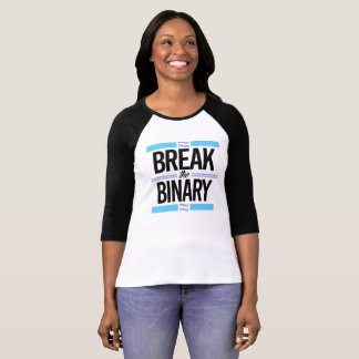 Camiseta Quebre o binário - -