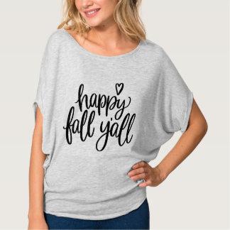 Camiseta Queda feliz você t-shirt